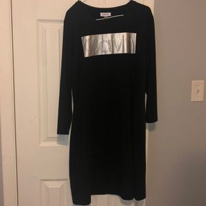 Calvin Klein long sleeve dress